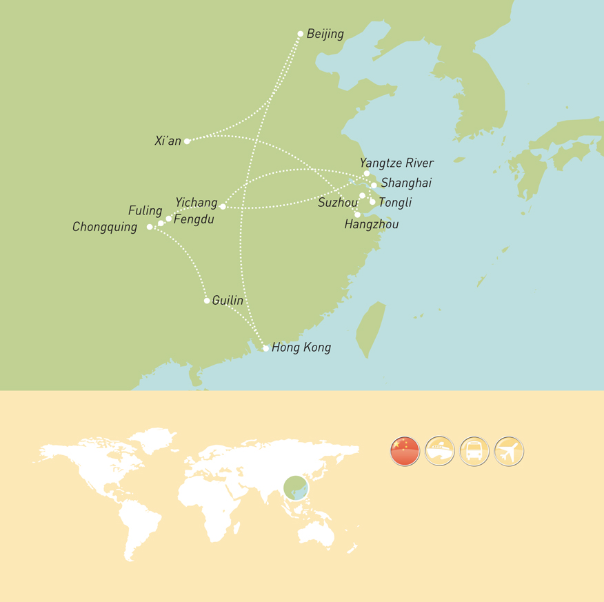 NZD Maher Tours Tour Programme_China MAP